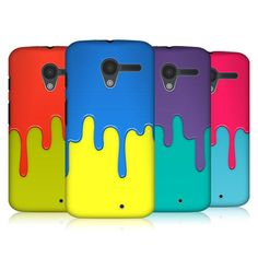 HEAD CASE DESIGNS COLOUR BLOCK MELTDOWN HARD BACK CASE COVER FOR MOTOROLA MOTO X #HeadCaseDesigns