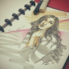 #art #illustration #sketch #pen #marker