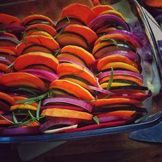 Gemüse aus dem Ofen - Holla die Kochfee