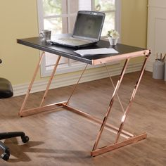 Acme Furniture Finis Writing Desk | from hayneedle.com