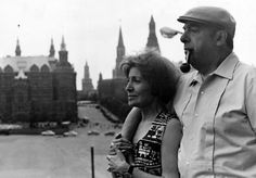 Matilde Urrutia + Pablo Neruda