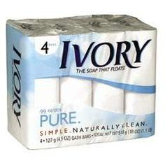 Ivory bar soap was not originally meant to float. They had been over-mixing the soap formula which caused excess air bubbles that made it float. Customers wrote to them and stated how much they loved that it floated, and it has floated ever since.