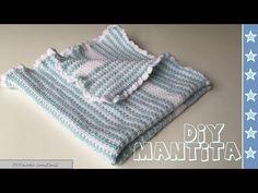 Mantita o Colchita de bebe en crochet para principiantes - YouTube