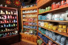 candle store displays colors - Google Search