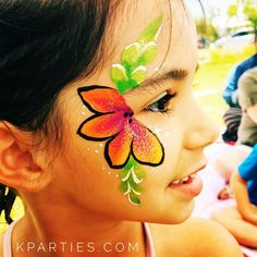 046af7b36 30 Best Hawaiian themed face paint images