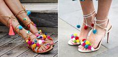 Pom Pom Sandalen selber machen: Diese Anleitung ist super easy