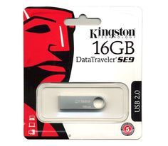 New Kingston DT SE9 16GB 16 GB USB Flash Drive Disk DataTraveler Keyring Metal #Kingston