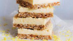 Lemon Coconut Slice - If you love lemon, you will LOVE this slice!