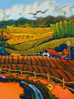"""Andre Derain's """"Three Trees at L'Estaque"""""""