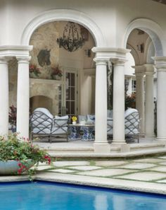 Outdoor spaces - traditional - landscape - dallas - by Isler Homes