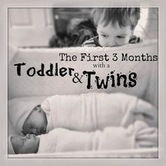Curious about life with a toddler and twins? Here's how our first three months went.