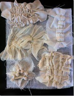 Contemporary quilt - stitch