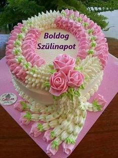 Birthday Posts, Happy Birthday, Birthday Cake, Beautiful Morning Messages, Sabrina Sato, Name Day, Shrek, Desserts, Dessert Recipes