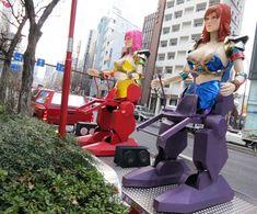 Japan has a Shinjuku ROBOT restaurant... with sexy fem-bots! I posted photos of this Tokyo theme restaurant at http://www.lacarmina.com/blog/2013/04/robot-restaurant-shinjuku-square-enix-cafe-final-fantasy-theme-bars/    shinjuku robot restaurant, robot girls