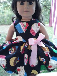 American Girl Doll Party Dress Birthday Cupcakes Made in the USA
