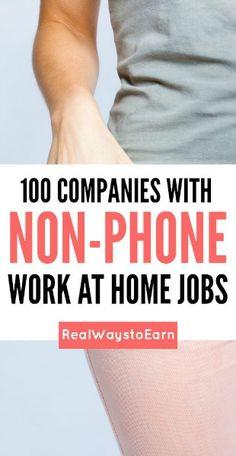 non phone jobs
