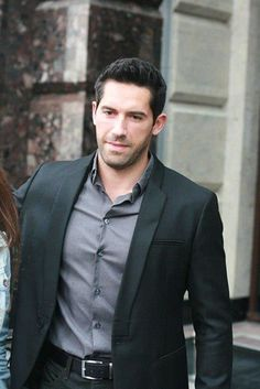 Scott Adkins. That woman outta the picture, perfect! lol!