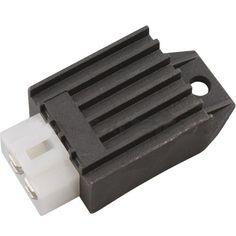 4-Pin Voltage Regulator Rectifier for 4-stroke 50cc 70 cc... https://www.amazon.com/dp/B00MSU5VUY/ref=cm_sw_r_pi_dp_aBXNxb4H4E7KX