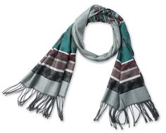 Corciova® Folk Style Vintage Tassel Ends Scarf Grey at Amazon Women's Clothing store: