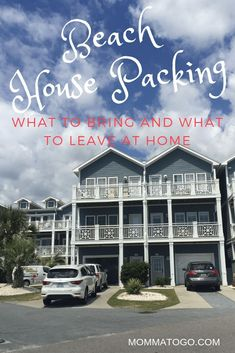 What to Bring to a Vacation Rental House - Momma To Go Travel Beach Vacation Meals, Packing List For Vacation, Enjoy Your Vacation, Vacation Home Rentals, Florida Vacation, Beach Trip Packing, Packing Tips, Beach Travel, Vacation Wishes