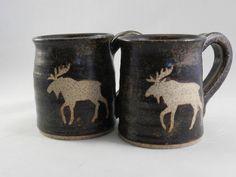 Moose Mug on Etsy, $26.00