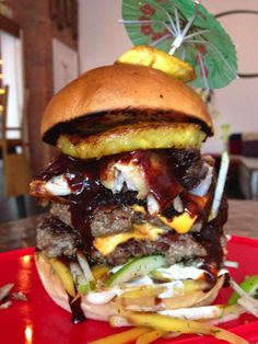 Almost Famous, Manchester. Ridiculous burgers!