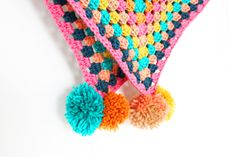 the candy pop poncho free #crochet pattern by Potter and Bloom at LoveCrochet