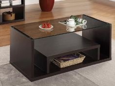Unique DIY Coffee Table Ideas That Offer Creative Style and Storage. With the right decor, a coffee table can be a key design element in your living room design. See more ideas about Gray couch Coffee Tables For Sale, Unique Coffee Table, Diy Coffee Table, Coffee Table Design, Shelf Furniture, Furniture Projects, Wood Furniture, Small Sectional Sofa, Diy Home Decor