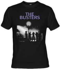Camiseta The Busters, the exorcist and ghostbusters mashup - Fanisetas.com