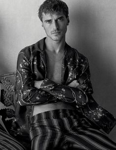 yes, you can wear pajamas all day: vivien solari and clement chabernaud by josh olins for wsj december / january 2015.16   visual optimism; fashion editorials, shows, campaigns & more!