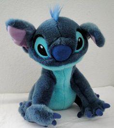 "Stitch Plush 15"" Disney Store Exclusive Lilo Stitch Stuffed Animal Discontinued $49.99"