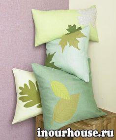 Осенние украшения для подушек