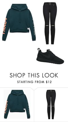 """Untitled #3"" by natalijafaye ❤ liked on Polyvore featuring 2LUV and NIKE"