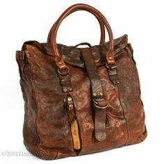 Large Leather Handbag, CANINA 2 by Campomaggi | Marcopoloni