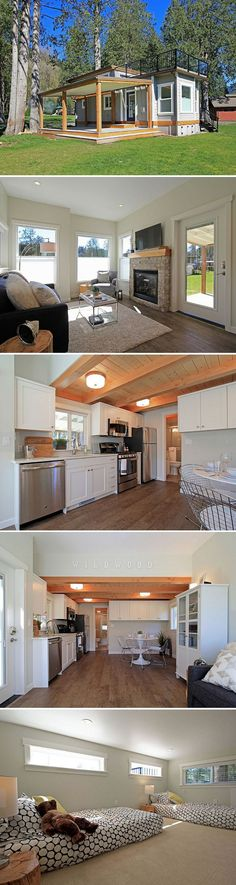 Good layout container home
