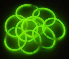 """100 10"""" Glowstick Bracelets GREEN by Lumistick. Save 40 Off!. $11.99. Great for Halloween, Parties, Bath Tub Fun, Weddings, Bars & More. Contains ALL GREEN Glow Bracelets. 1 Tube of 100 GREEN Glow Bracelets. 100 Connectors Included (Make Bracelets, Necklaces & More). Glows 8 - 12 Hours; Brand New & Fresh from the Factory. The best brand of glow sticks on the market. You will receive 1 tube of 100 LumiStick luminescent light bracelets. Your order will also contain 100 connecto..."""