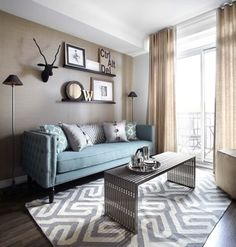eclectic wal; decor Living Room Design Ideas, Pictures, Remodel and Decor