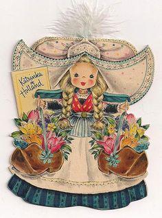 Hallmark 1948, Dolls of the Nations, Katrinka of Holland, #21