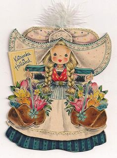 hallmark doll card