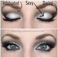 Younique Pigments for a pretty but simple eye: Infatuated in the crease, Sexy on the lid and Daring on the outer v get them here https://www.youniqueproducts.com/AndreaBohlen/products/view/US-21000-00#.VSmaeRPF9XY