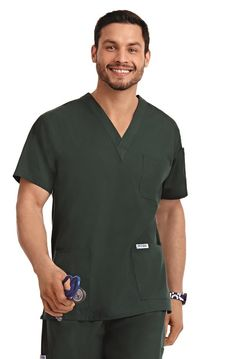 Classic, traditional and simple. This Unisex V-Neck Scrub Top has three front pockets, one shoulder pen pocket and is available in every color imaginable. Nurse Uniforms   Medical Wear   Dixie Uniforms Canada