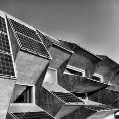 """""""Endesa Pavilion at the Olympic Port of Barcelona, designed by the Institute for Advanced Architecture of Catalonia (Iaac) with the support of Endesa. The project is part of the Smart City BCN Congress, 2011."""""""