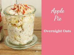 Rezept für Overnight Oats Apple Pie