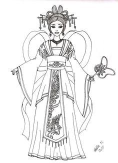 Chinese Phoenix Empress By
