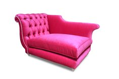 Duncan Chaise Dog Bed - Tufted with crystals with Majestic Very Berry Majestic Lilac Welt