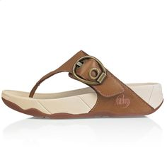 Hooper Toffee Tan ~ The MOST comfortable shoes in the world. Not only is it a comfortable flip flop but it exercises your legs and buttocks with every steps. Wish I had them in every color and style, they are that great!