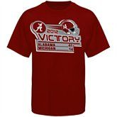 Alabama Crimson Tide   Wolverines Youth 2012 Victory Score T-Shirt - Crimson  #UltimateTailgate  #Fanatics