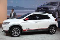 Citroëns C-XR Concept - das erste Kooperationsprodukt mit Dongfeng