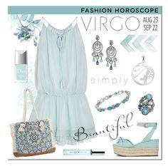 """VIRGO: Fashion Horoscope"" by sjkingdesign ❤ liked on Polyvore featuring Target, Retrò, Elizabeth and James, Billabong, Oscar de la Renta, Kate Spade and Christian Dior"