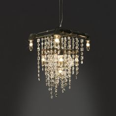 Tribeca Collection Grand Chandelier - Industrial Modern Lighting - The Gorgeous Tribeca Grand Chandelier Pendant